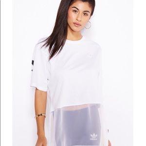 adidas Originals Basketball Tee Dress AJ8870 NWT